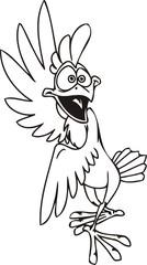 Cocky...Funny Birds.