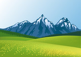 Mountain background - 24613302