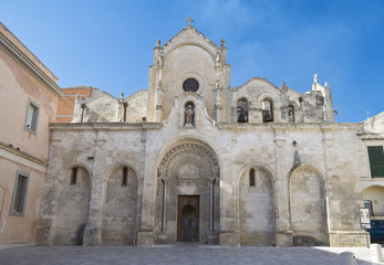 St. John the Baptist Church. Matera. Basilicata.