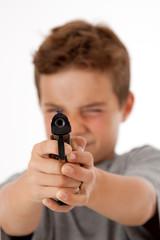 Jugendlicher Gewalttäter