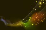 Fototapety vague d'étoile - flux spatial