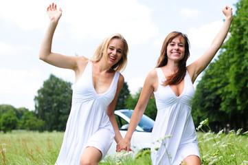 Mädels im Sommer
