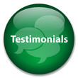 TESTIMONIALS Web Button (business kudos speech bubbles vector)