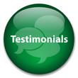 TESTIMONIALS Web Button (business kudos speech bubbles vector)