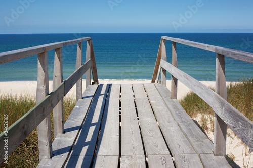 Stairs to beach - 24626165