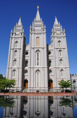 LDS Mormon Temple In Salt Lake City