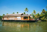 Exciting journey with a houseboat through the backwaters poster