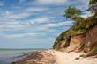 Leinwandbild Motiv Steilküste an der Ostsee, Insel Poel, cliff line, Baltic Sea