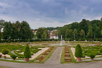 Barockgarten Schloss Ludwigsburg
