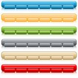 Fototapety Web buttons navigation bars
