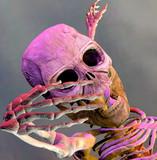 Nightmare monster poster