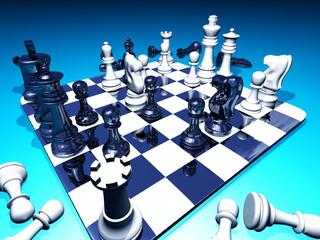 Schach in Aktion