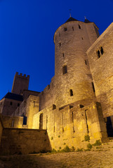 Carcassonne by night 02