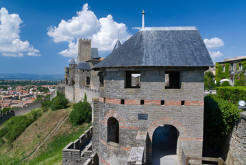 Carcassonne - Fortifications 04