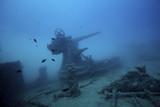 Fototapete Gesunheit - Unterwasser - Motorboot