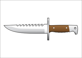 Couteau de chasse