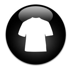 Black Button T-shirt