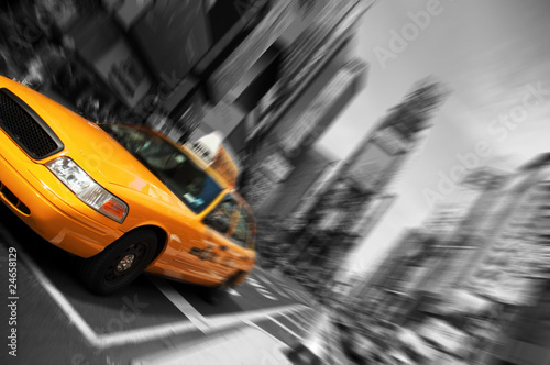New York City Taxi, ruch skupienia Blur, Times Square
