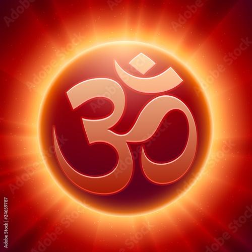 Vector Hindu Om Symbol Stock Image And Royalty Free