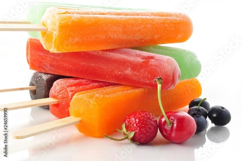ice cream pops