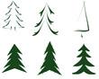 grüne Weihnachtsbaum Weihnachten