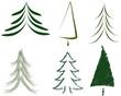 weihnachtsbaum Vektor grün