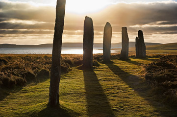Shadows at Brodgar  (Orkney Isles)