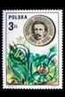Постер, плакат: Poland CIRCA 1973: A stamp Edvard Strasburger