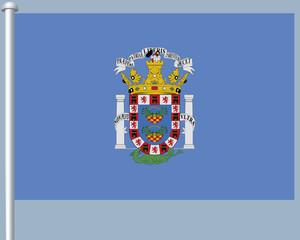 Flaggenserie-Nordafrika-Melilla