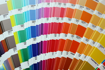 Color guide: pantone colours