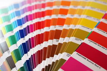 Color guide: pantone colours
