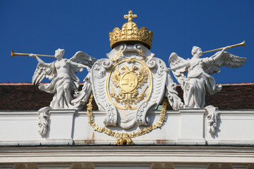 Habsburg Coat of Arms at the Hofburg in Vienna