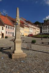 Marktplatz in Stolpen