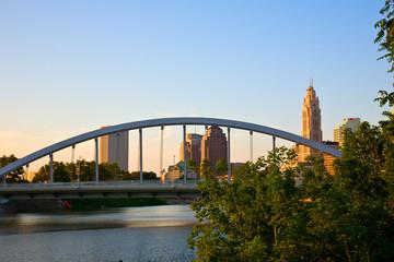 New Main Street Bridge in Columbus, Ohio