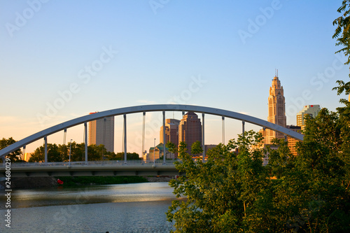 New Main Street Bridge in Columbus, Ohio