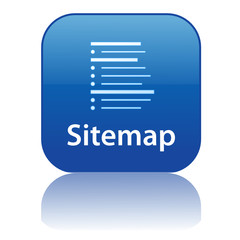 SITEMAP Web Button (internet website webpage structure icon map)