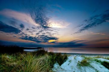 Sonnenuntergang am Ostsee