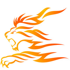 Lion flame