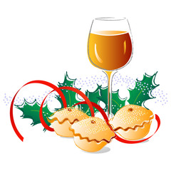 Sherry and mince pies