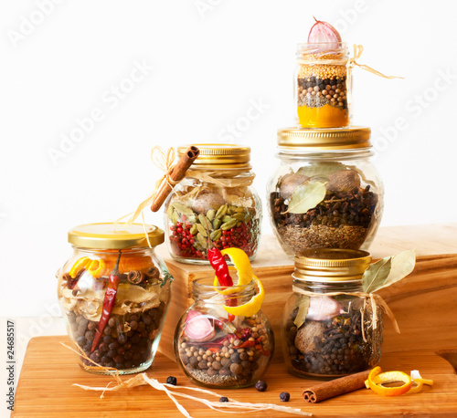 herb mixtures and spicy blends