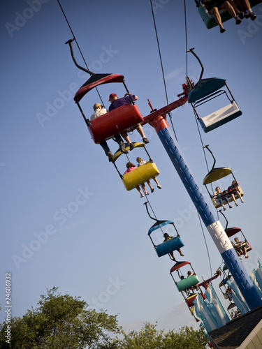 Skyride at the Ohio State Fair