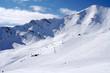 Mountain Ski Run