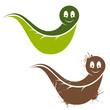 natur bio freundlich zeichen symbol