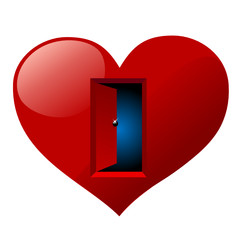 the door of heart