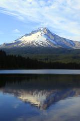 Mt. Hood & Trillium lake, Oregon.