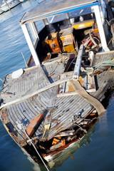 Rudere di una barca