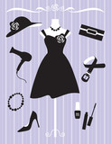 Woman Dress and Accessories poster
