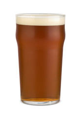 English pale ale in a pint glass
