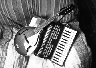 Mandolin and piano accordian