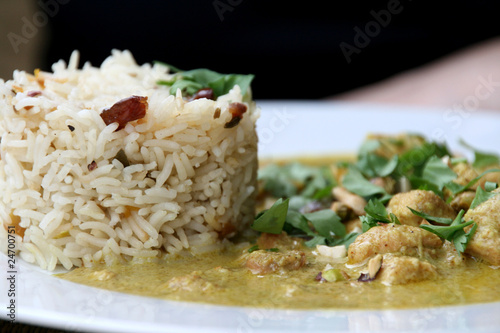 Chicken Korma Poster